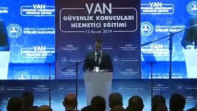 (TEKRAR) İçişleri Bakanı Soylu, 'Korucular Hizmet İçi Eğitim Semineri'ne katıldı - VAN