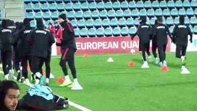 A Milliler, Andorra maçı hazırlıklarını tamamladı - ANDORRA LA VELLA