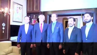 yerel secim - AK Parti Sözcüsü Çelik'ten, Adana Büyükşehir Belediye Başkanı Karalar'a ziyaret - ADANA