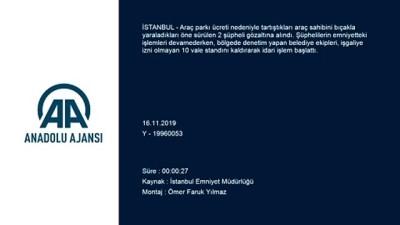 Beşiktaş'ta işgaliye izni olmayan 10 vale standı kaldırıldı - İSTANBUL