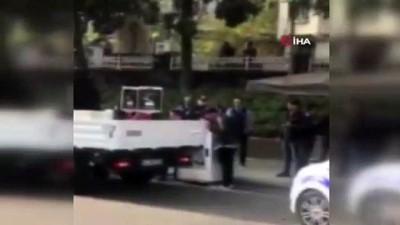 Beşiktaş'ta işgaliye izni olmayan valeler bir kişiyi bıçakla yaraladı