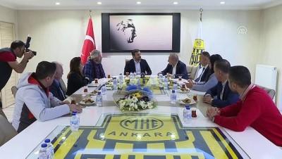 CHP'den Ankaragücü'ne ziyaret - ANKARA
