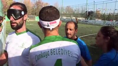 CHP Spor Kurulu, görme engelli şampiyonların sevincine ortak oldu - ANKARA
