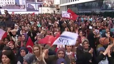Cumhurbaşkanı Erdoğan: 'Sosyal güvenlik kurumumuzun gelirlerinin giderlerini karşılama oranı yüzde 71,5'ten yüzde 89,4'e çıktı' - İSTANBUL