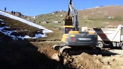 Dipsiz Göl'ün rehabilitasyonu için çalışmalar başladı - GÜMÜŞHANE