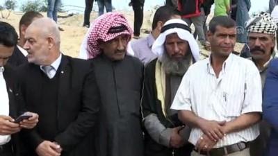 Filistinli hukukçular Gazze'de İsrail'in saldırılarını protesto etti - GAZZE