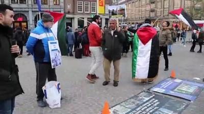 Hollanda'da İsrail protestosu - AMSTERDAM