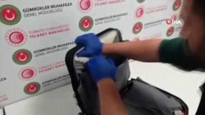 İstanbul Havalimanı'nda Kokain Operasyonu: Piyasa değeri 700 Bin TL