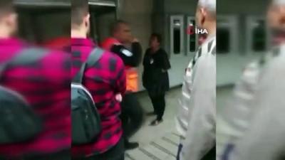 Karaköy'de başörtülü kızlara saldıran kadına tutuklama istemi