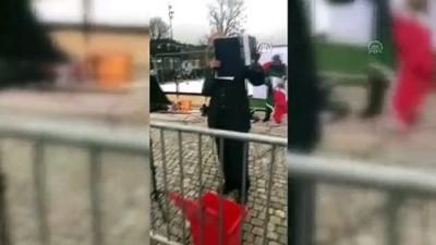 Norveç'te aşırı sağcı grup SION'dan İslamiyet karşıtı gösteri - STOCKHOLM