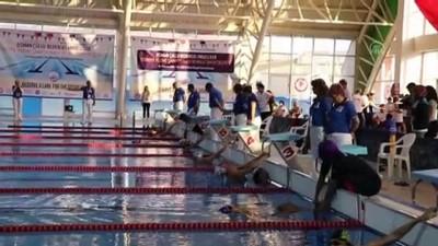 Osman Çullu Bedensel Engelliler Türkiye Yüzme Şampiyonası başladı - ISPARTA