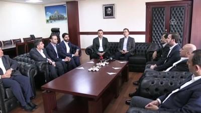 yerel secim - AK Parti Sözcüsü Çelik'ten belediye başkanlarına ziyaret - ADANA