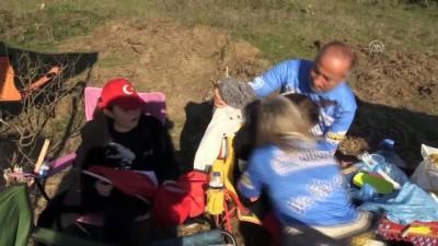 Kadın off-road pilotunu eşi ve çocukları yalnız bırakmıyor - SİNOP