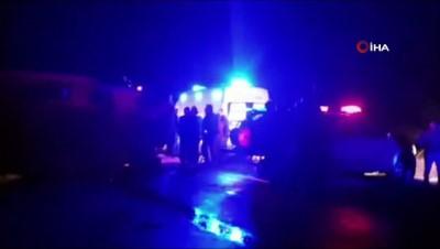 Kontrolden çıkan otomobil taklalar atarak durabildi: 1 ölü 2 yaralı