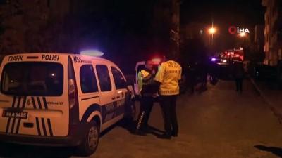 Polisin 'dur' ihtarına uymayan otomobil sürücüsü ile polis arasında kovalamaca yaşandı