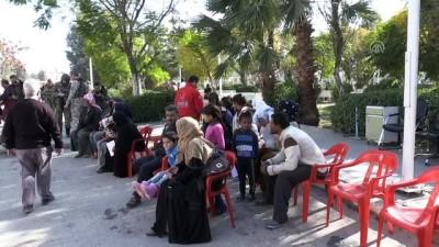 Resulayn'da açılan hastanede kadın doğum ve çocuk hastalıkları servisi hizmete açıldı (1)