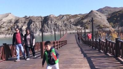Uzunçayır Baraj Gölü su sporları merkezine dönüştü (1) - TUNCELİ
