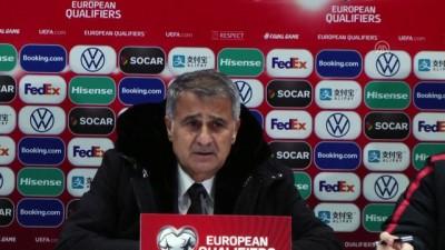 Andorra-Türkiye maçının ardından - Şenol Güneş - ANDORRA LA VELLA