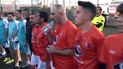 Ankara'daki Yozgatlılar köyler arası futbol turnuvasında kıyasıya mücadele etti