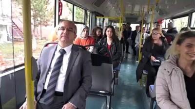 Başkentte toplu ulaşıma kadın eli değecek