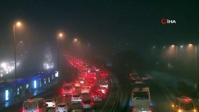 İstanbul'da yoğun sis etkili oluyor