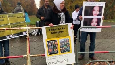 Mısır Cumhurbaşkanı Sisi Almanya'da protesto edildi - BERLİN