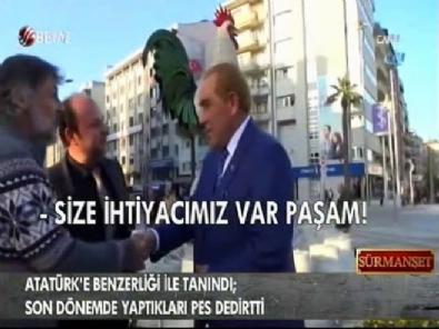 Atatürk'e benzerliğiyle tanındı; son dönemde yaptıkları pes dedirtti