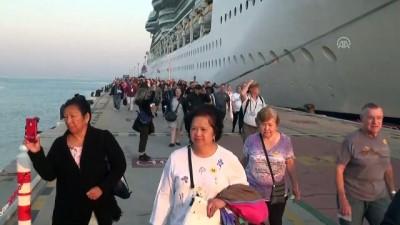 Dev kruvaziyer, Kuşadası'na 2 bin 255 yolcu getirdi - AYDIN