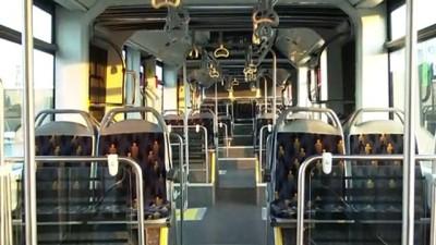 İmamoğlu, yerli üretim metrobüsün test sürüşüne katıldı - İSTANBUL