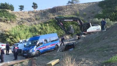 Karaburun'daki sit alanına yapılan inşaatta yıkım başladı - İZMİR