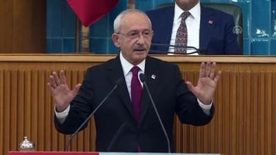grup toplantisi - Kılıçdaroğlu - Türkiye Şehit Yakınları ve Gazilerle Dayanışma Vakfı - TBMM