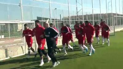 Sivasspor, Kayserispor maçının hazırlıklarını sürdürdü - SİVAS