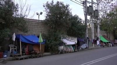 Yunanistan'da kamp dışındaki düzensiz göçmenler yaşam mücadelesi veriyor - ATİNA