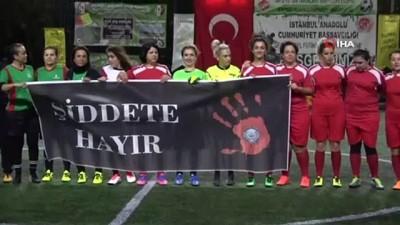 calisan kadin -  Anadolu Adliyesi'nin kadın personelleri 'şiddete hayır' demek için sahaya çıktı