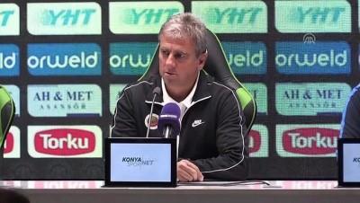 İttifak Holding Konyaspor-Gençlerbirliği maçının ardından - KONYA