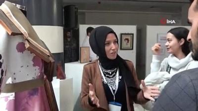 1. Uluslararası Zanaattan Sanata Jürili Karma Sergisi Uşak'ta açıldı
