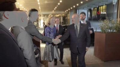 - Bakan Çavuşoğlu, AP Başkanı Sassoli ile görüştü
