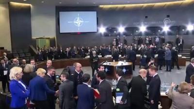 Çavuşoğlu, NATO Dışişleri Bakanları Toplantısına katıldı - BRÜKSEL