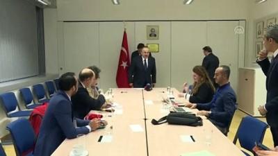Çavuşoğlu: 'PKK'lılar ve FETÖ dahil diğer teröristler, Avrupa Parlamentosu'nda cirit atıyor'- BRÜKSEL