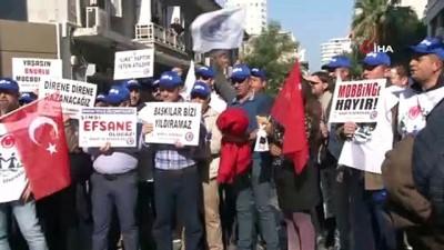 Çok sayıda işçi çıkaran giyim sektörünün devine protesto
