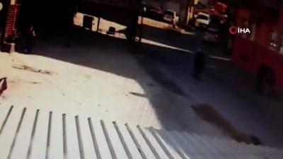 Çorum'da açık kalan kamyonet kapağı yaşlı adamın kafasına çarptı