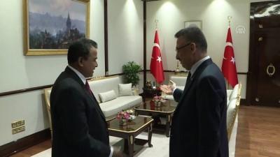 Cumhurbaşkanı Yardımcısı Oktay, Bangladeş Maliye Bakanı Kamal'ı kabul etti - ANKARA