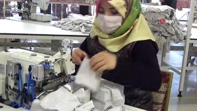 Devlet ve yatırımcı iş birliğiyle açılan tekstil birçok kişiye ekmek kapısı oldu