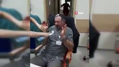 Hastanede yaptıkları yetmezmiş gibi uygunsuz eğlence anlarını sosyal medyada paylaştılar