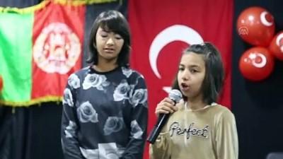 İstiklal Marşı'nı ezbere okuyan Afganlı kardeşler hayran bıraktı - ERZURUM