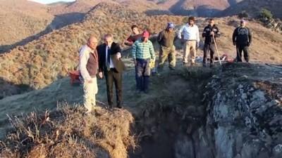 Kastamonu'daki 'Gavur Kayalıkları'nda kurtarma kazısı başladı Haberi