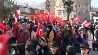 Pervari'den Barış Pınarı Harekatı'na destek - SİİRT
