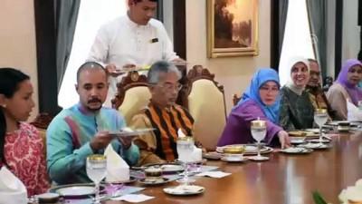 Şef Ömür Akkor, Malezya Kraliçesi'ne Türk mutfağını tanıttı - PUTRAJAYA