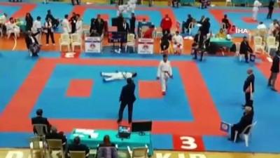 Uşaklı karateciden 9 yılın sonunda elde edilen milli başarı