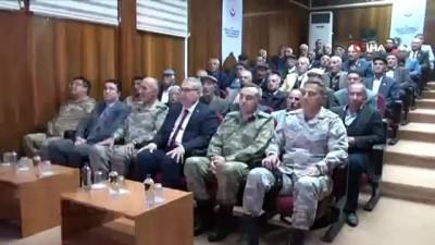 61 Kıbrıs gazisi için 'Madalya ve Berat Tevcih Töreni' düzenlendi